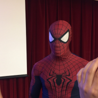Spider-Man refuses to give information